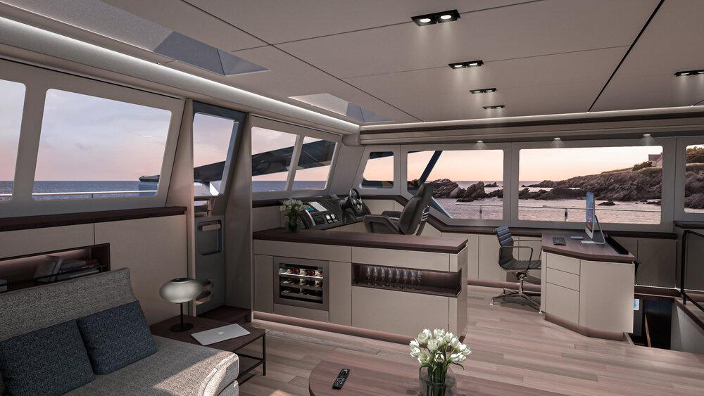OCEAN ECO 60 Interior Design 1